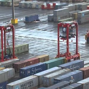 Der Hafen im Meer: Gebaut für die Zukunft