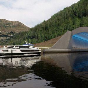 Norwegen / Schiffstunnel