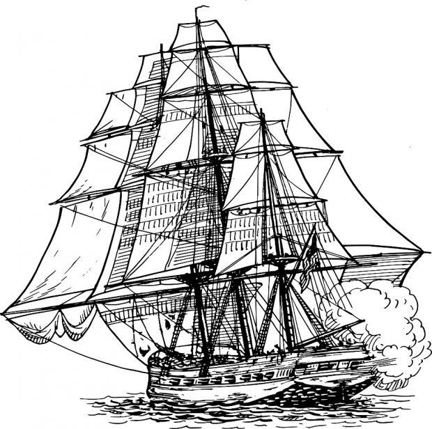 Nautische Redensarten_Breitseite_ship-309618_1280 (c) pixabay.com