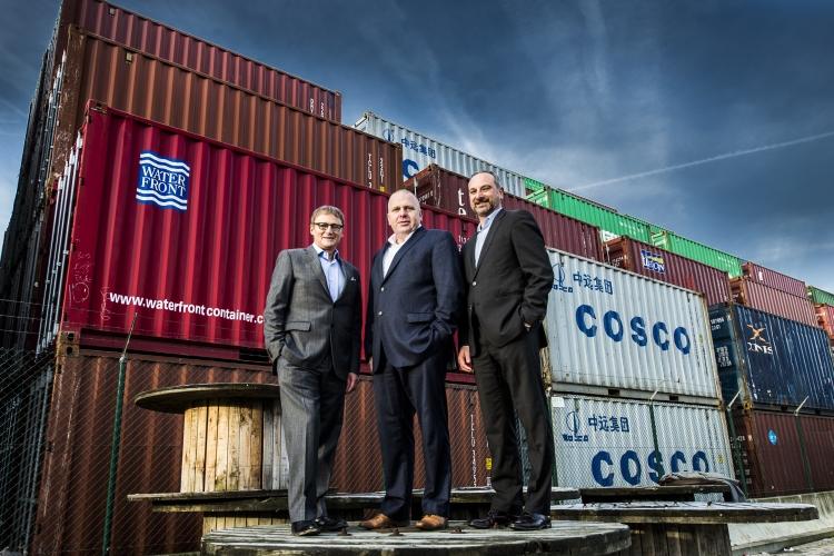Avantida-Vorstand (v.l.): Patrick De Deken, President of the board, Luc De Clerck, Chief Executive Officer, und Mark De Keyser, Chief Operating Officer.