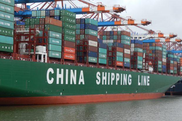 China Shipping Line (c) URSfoto_pixelio.de