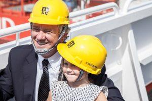 Pierfrancesco and Zoe Vago (c) MSC