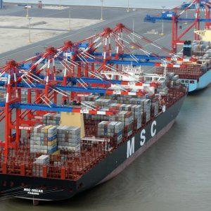 Neue Asiendienste Maersk und MSC JadeWeserPort (c) Eurogate