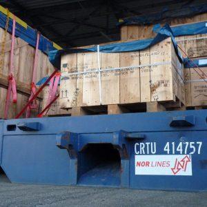 Dänischer Logistiker nutzt JadeWeserPort und Cuxport für Projektumschlag (c) Cuxport