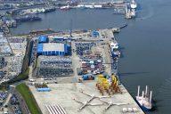 Willkommen im Hafen Niedersachsen (c) nPorts