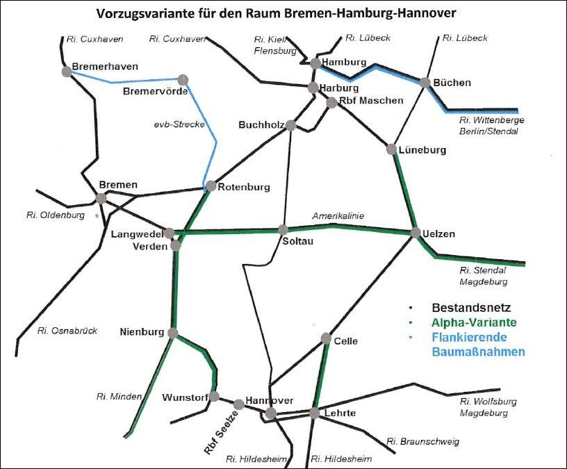 Optimierte Alpha-Variante (c) Dialogforum Schiene Nord
