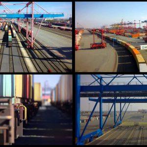 Containerumschlag in Bremerhaven, Hamburg und Wilhelmshaven