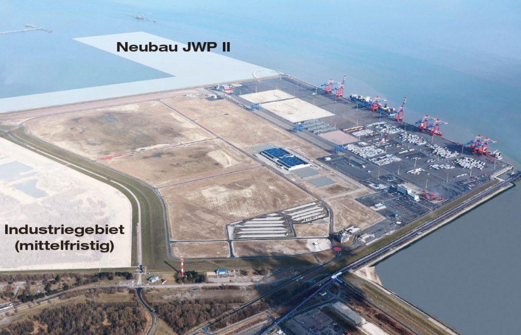 Machbarkeitsstudie JadeWeserPort II (c) JWP