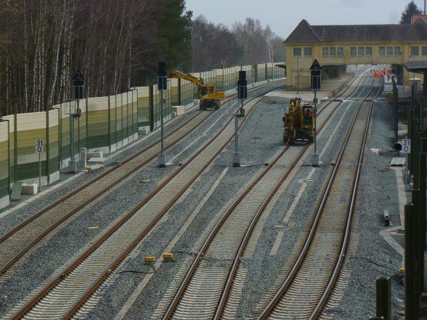 Zweigleisige Hinterlandanbindung JadeWeserPort (c) Deutsche Bahn AG