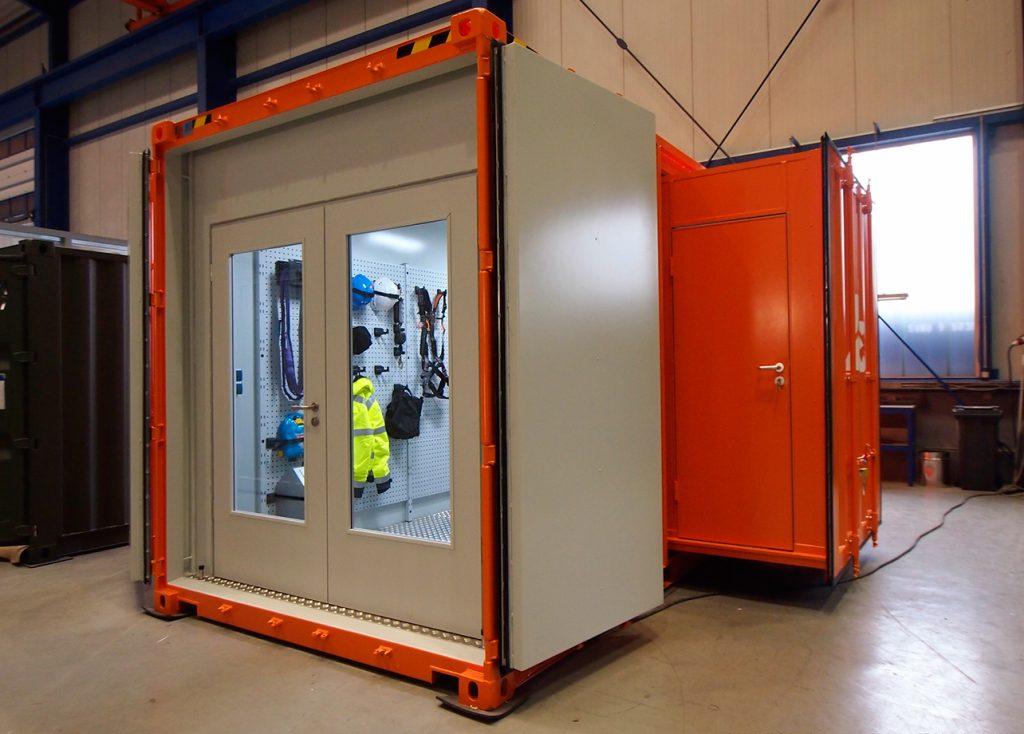 CHS-Werkstatt-Container