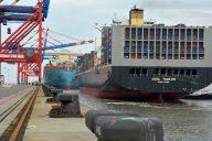 Erstanlauf Ocean Alliance_JadeWeserPort (c) Eurogate