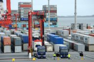 Nordfrost Container-Trucking JadeWeserPort (c) Nordfrost
