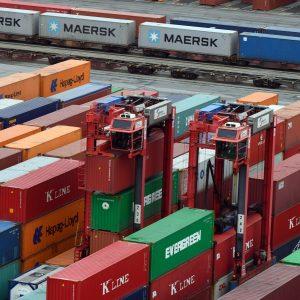 Container Terminal Eurogate  22.2.17  Foto Scheer