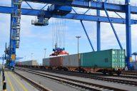 Container Shuttle Wilhelmshaven (c) Eurogate