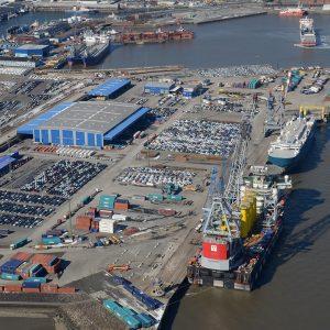 Niedersachsens Seehäfen verbuchen Umschlagplus (c) Seaports of Niedersachsen