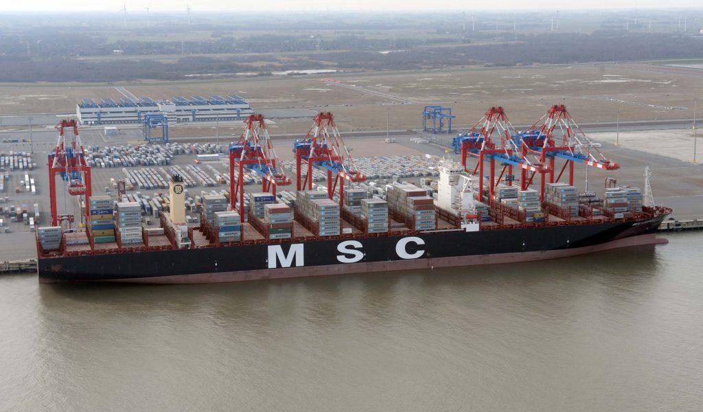 MSC ordert Mega-Carrier mit 22.000 TEU (c) Eurogate