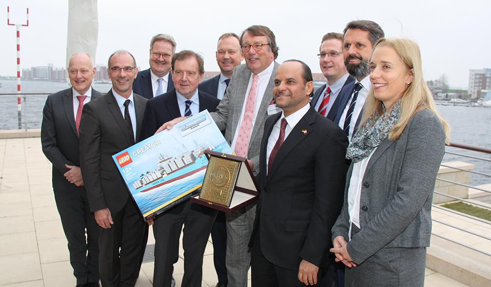 Auf Einladung der Oldenburgischen IHK war der Botschafter des Arabischen Emirats Katar am 22. November 2018 zu Gast an der Jade. Saoud bin Abdulrahman Al Thani favorisiert Wilhelmshaven als LNG-Standort, da er im Vergleich mit anderen Hafenstandorten die besten Konditionen aufweise. Katar ist der weltweit größte Exporteur von Flüssigerdgas und möchte die Pläne zum Bau eines LNG-Terminals in Deutschland unterstützen.