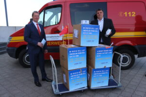 Links: Andreas Bullwinkel, rechts: Carsten Feist