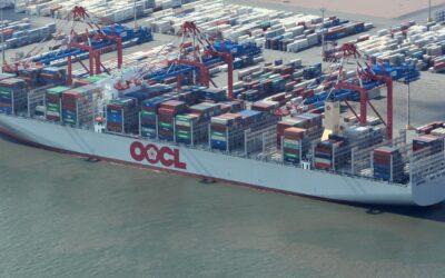 OOCL ordert sieben neue Megacarrier