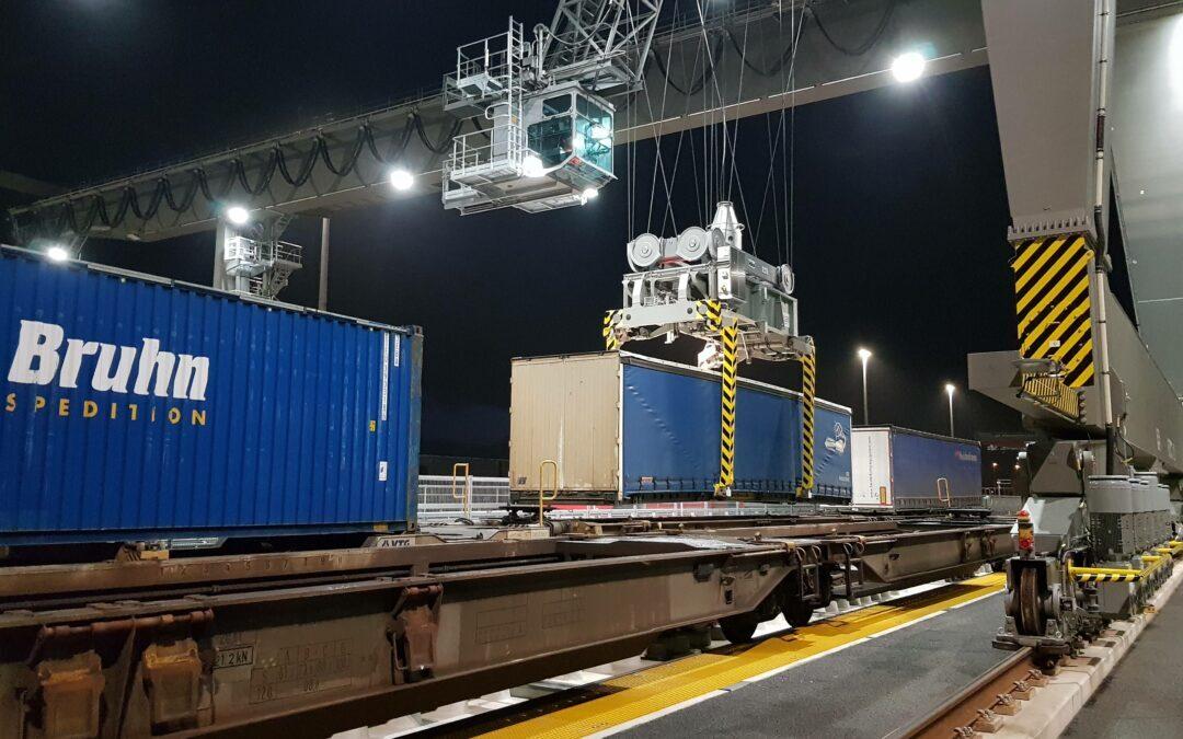 Neuer Containerbahnhof bei Hannover weitet Betrieb aus