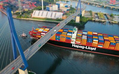 Hapag-Lloyd steigt beim JadeWeserPort ein