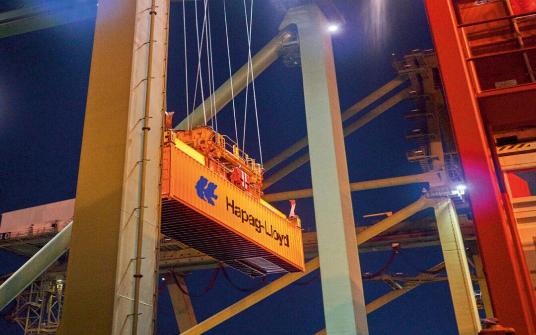 Hapag-Lloyd bestellt weitere 75.000 Container