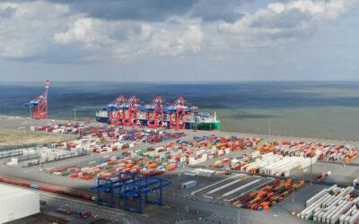 JadeWeserPort: Bestellung weiterer Containerbrücken in Sicht